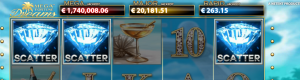 Mega Fortune Dreams scatter